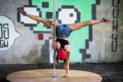 Тренер Выповская Марина - Кропивницкий, Aerial hoop, Pole dance